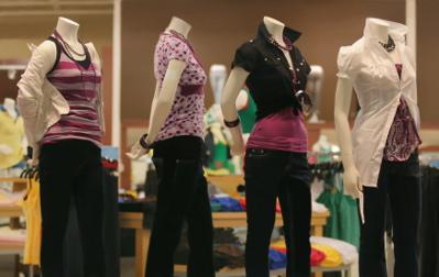 mannequins clothes