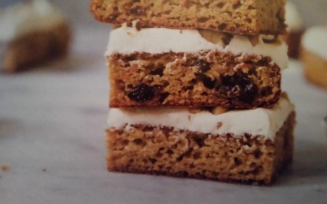 Paleo Carrot Cake Bars Recipe