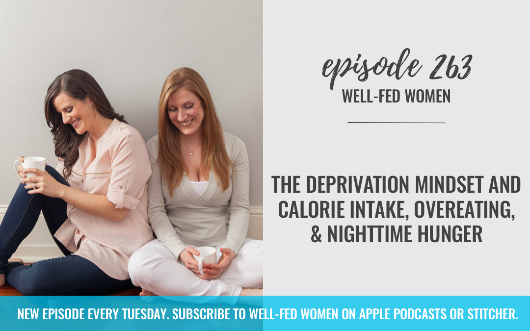 The Deprivation Mindset and Calorie Intake, Overeating, & Nighttime Hunger